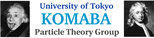 Komaba Particle Theory Group
